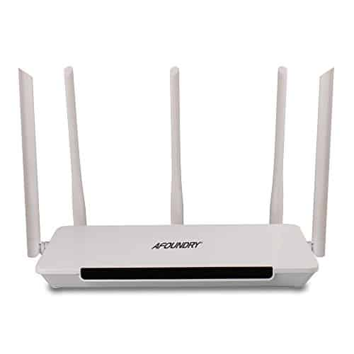 AFOUNDRY-Q500-Dual-Band-Wireless-Wi-Fi-AC-Gigabit-Router-1200Mbps-Fast-Ethernet-Computer-Router-Built-in-5x5dBi-fixed-Antenna