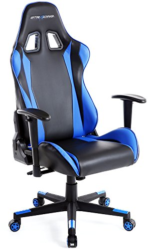 GTracing-Ergonomic-Office-Chair-Racing-Chair-Backrest-and-Seat-Height-Adjustment-Computer-Chair-With-Pillows-Recliner-Swivel-Rocker-Tilt-E-sports-Chair