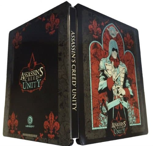 Assassins-Creed-Unity-Exclusive-Limited-Edition-Steelbook-Case-Art-Book-and-Original-Soundtrack-Cd