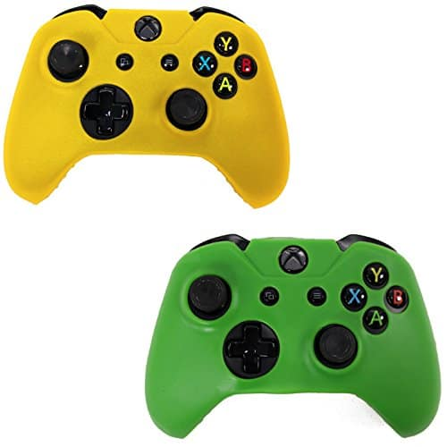 HDE-Xbox-One-2-Pack-Controller-Grip-Skin-Protective-Silicone-Rubber-Cover-for-Wireless-Xbox-1-Gamepad